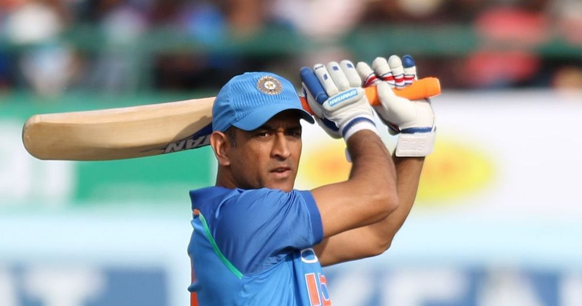 MS Dhoni competes against Hardik Pandya in a 100 metre sprint