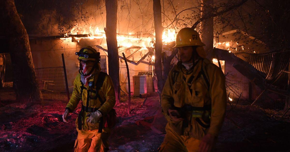 California fire damage to homes is less 'random' than it seems