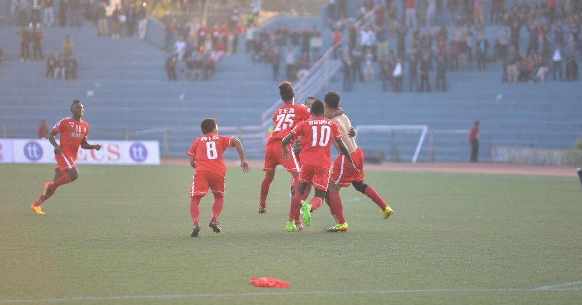 I-League: Yugo Kobayashi's late strike gives Aizawl a narrow win over Churchill Brothers
