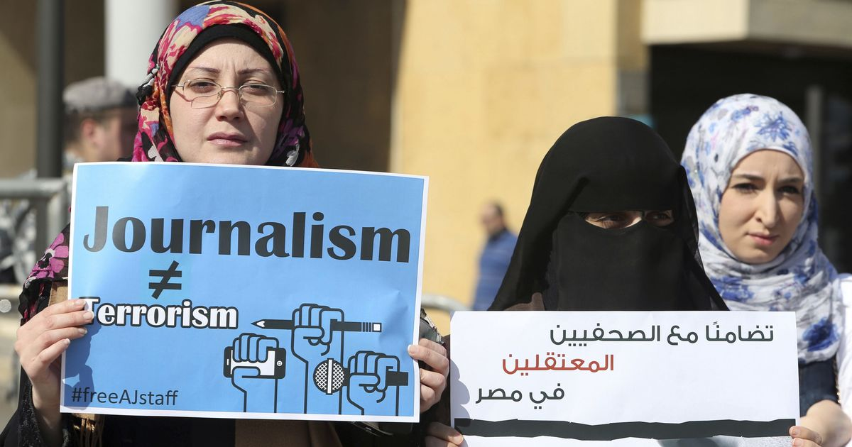 Record number of journalists persecuted in 2017 worldwide