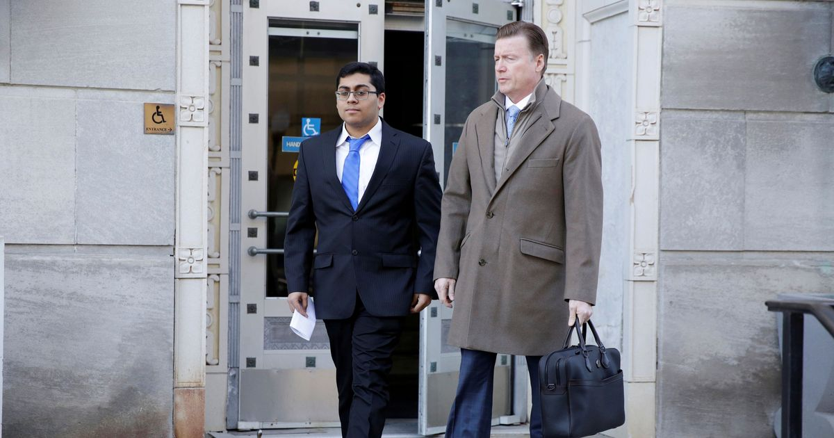 Indian-American student pleads guilty for cyberattacks on
