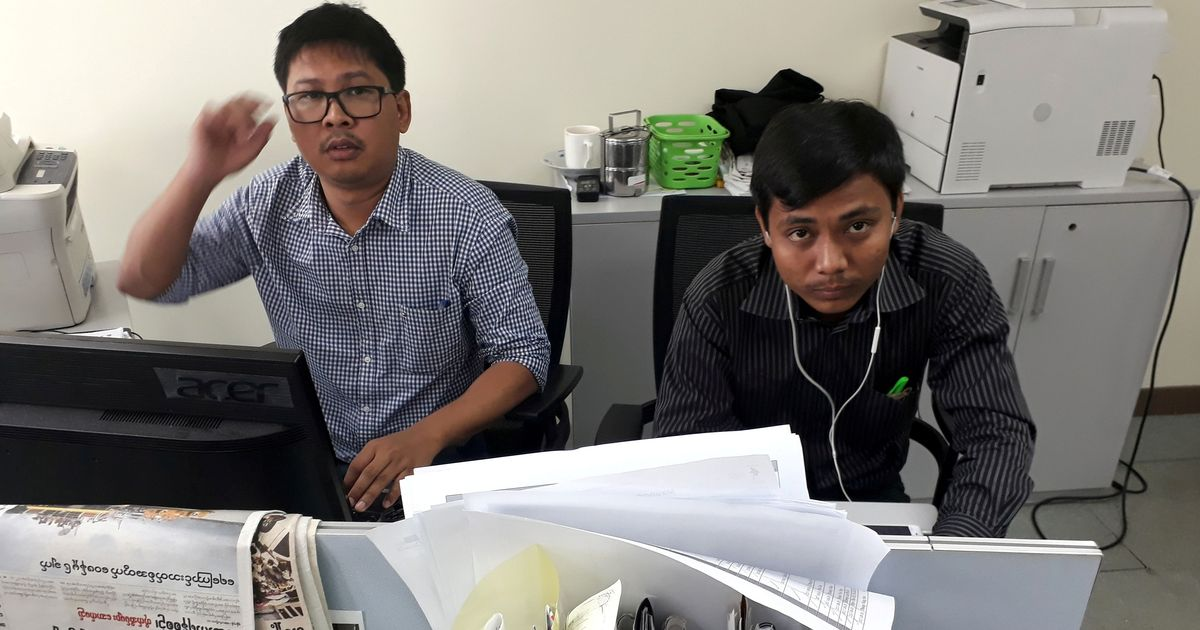 Myanmar President instructs government to proceed with its case against two Reuters journalists