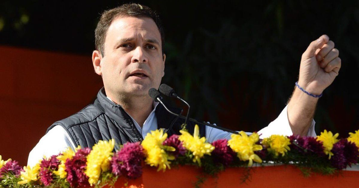 Congress will win 135 seats in Gujarat in 2022, Rahul Gandhi tells party workers in Ahmedabad
