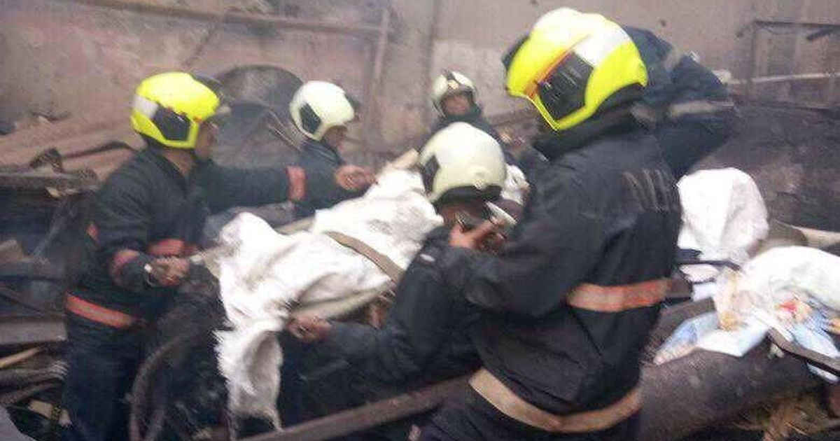 12 killed after fire erupts at a shop in Mumbai