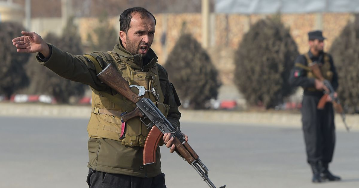 Two security guards killed as Daesh attack intelligence training centre in Kabul