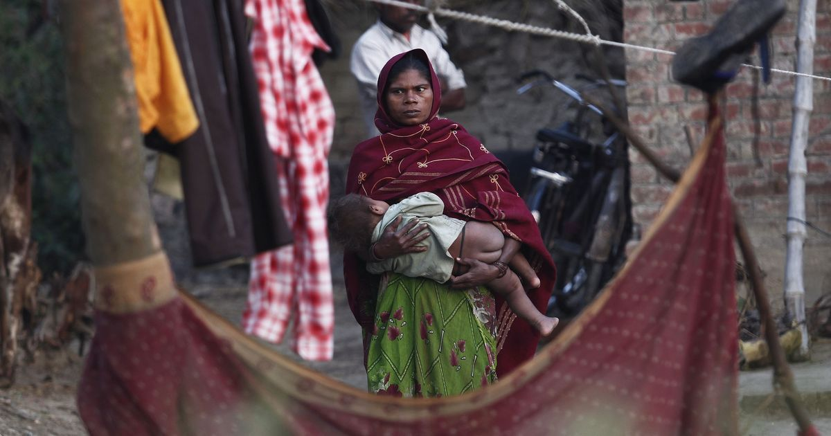 Nearly half of India's households with more than five children very poor and deprived of basic needs