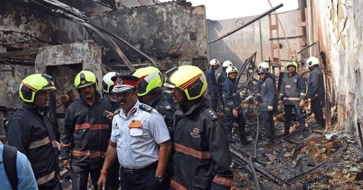 Mumbai farsan mart fire: Shop owner held, FIR lodged