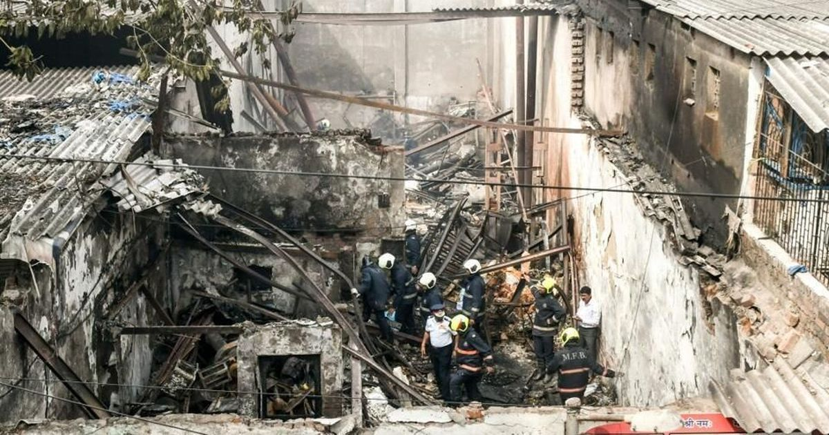 12 deaths in illegal Mumbai snack factory fire put focus on dangerous conditions for migrant workers