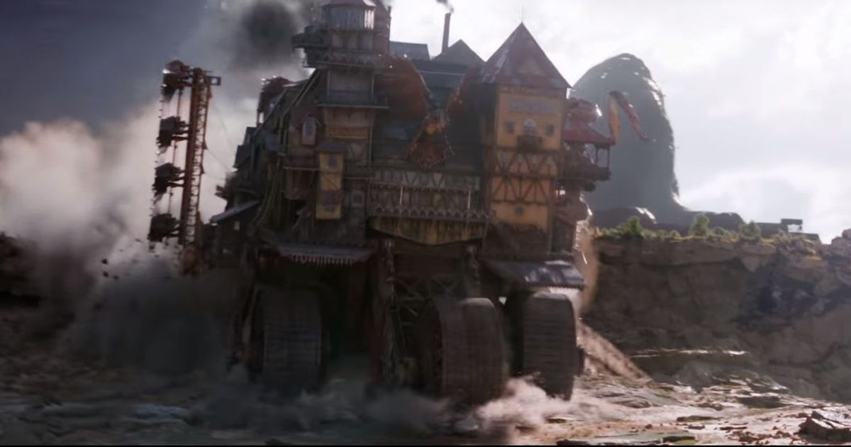 Watch: London devours smaller cities in Peter Jackson's 'Mortal Engines' teaser