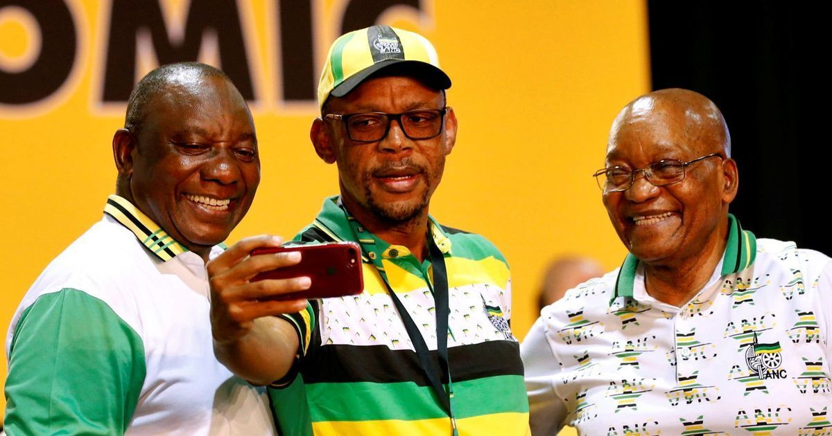 South Africa's ruling party announces decision to remove Jacob Zuma from presidency