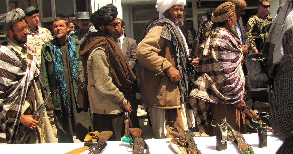 Why did Saudi Arabia and Qatar, allies of the US, continue to fund the Taliban after the 2001 war?