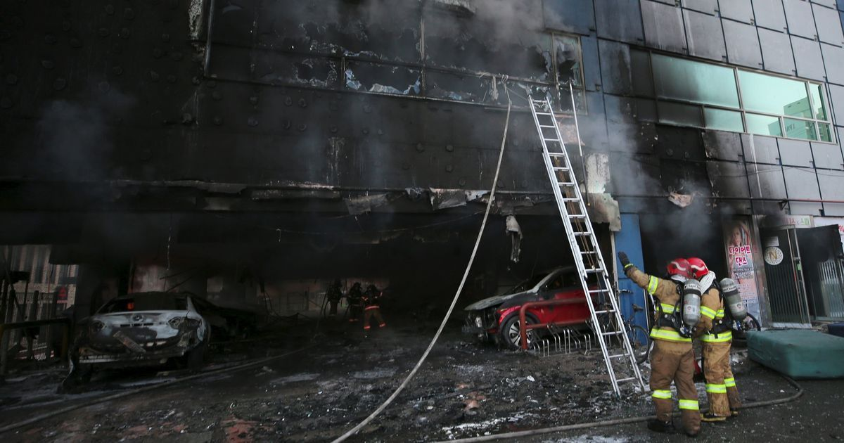 South Korea building fire leaves 29 dead, 29 injured