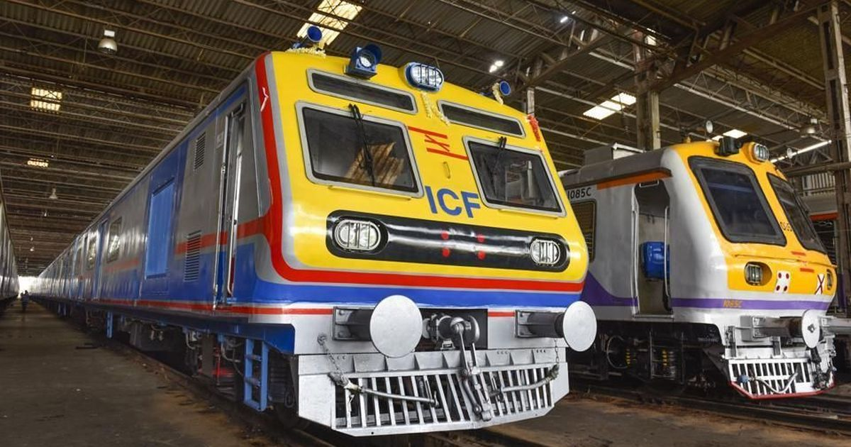 First AC local train starts in Mumbai