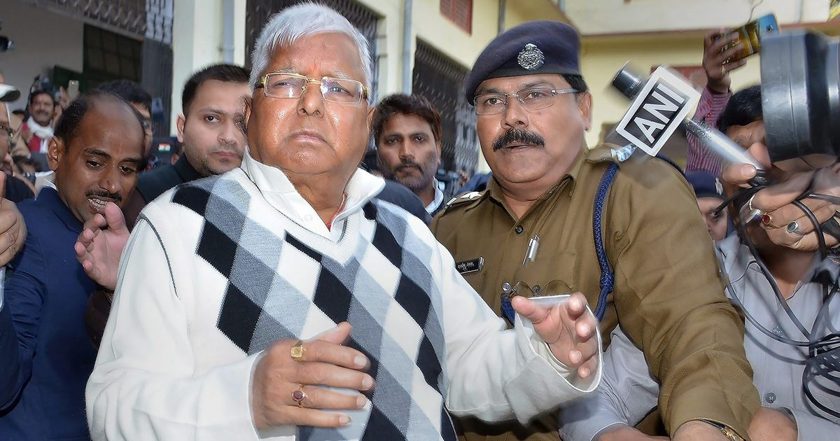 RJD throws fit over case against Lalu Prasad Yadav