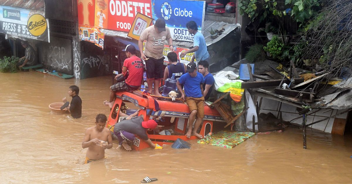 Tropical storm kill more than 100 in the Philippines
