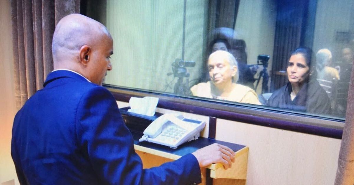 Kulbhushan Jadhav meets his mother and wife in Islamabad
