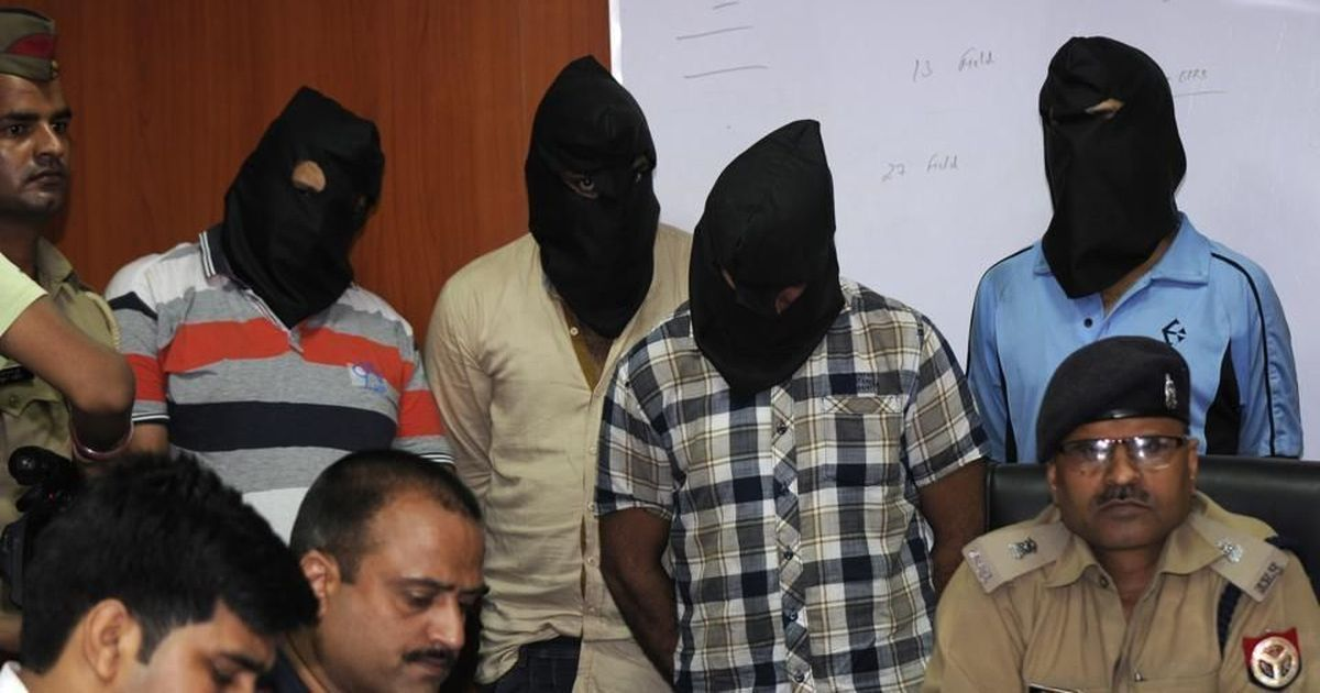 Men in hoods: Police-organised photos reiterate that all Indians are not equal in eyes of the law