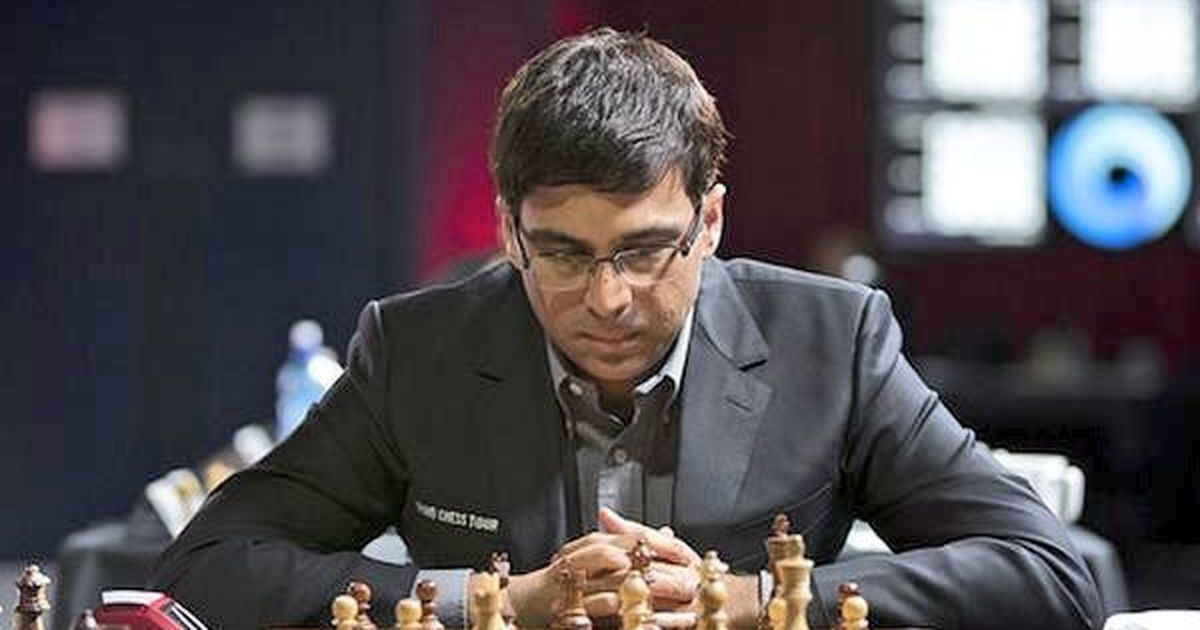 Mixed opening day for Anand at rapid chess meet, placed tied-fourth