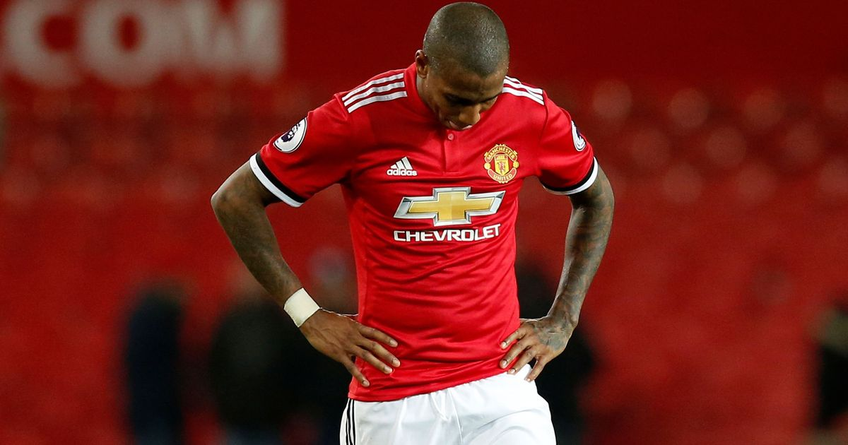 Ashley Young charged with violent conduct for Dusan Tadic elbow