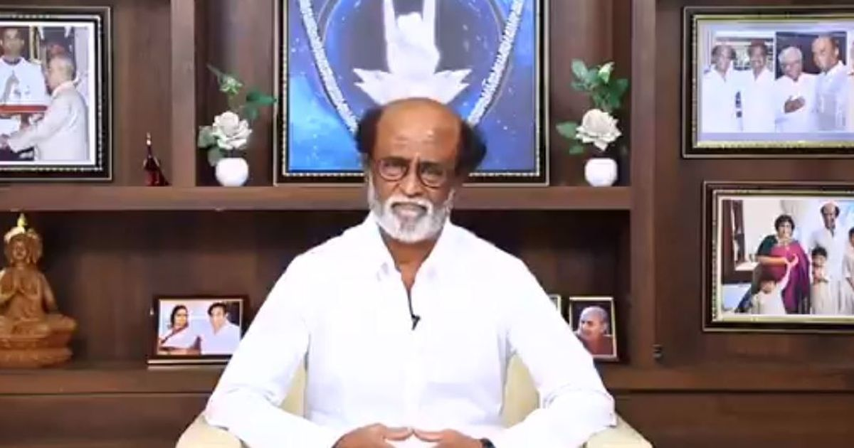 Rajinikanth launches website, mobile app to bring fans together before he starts political party