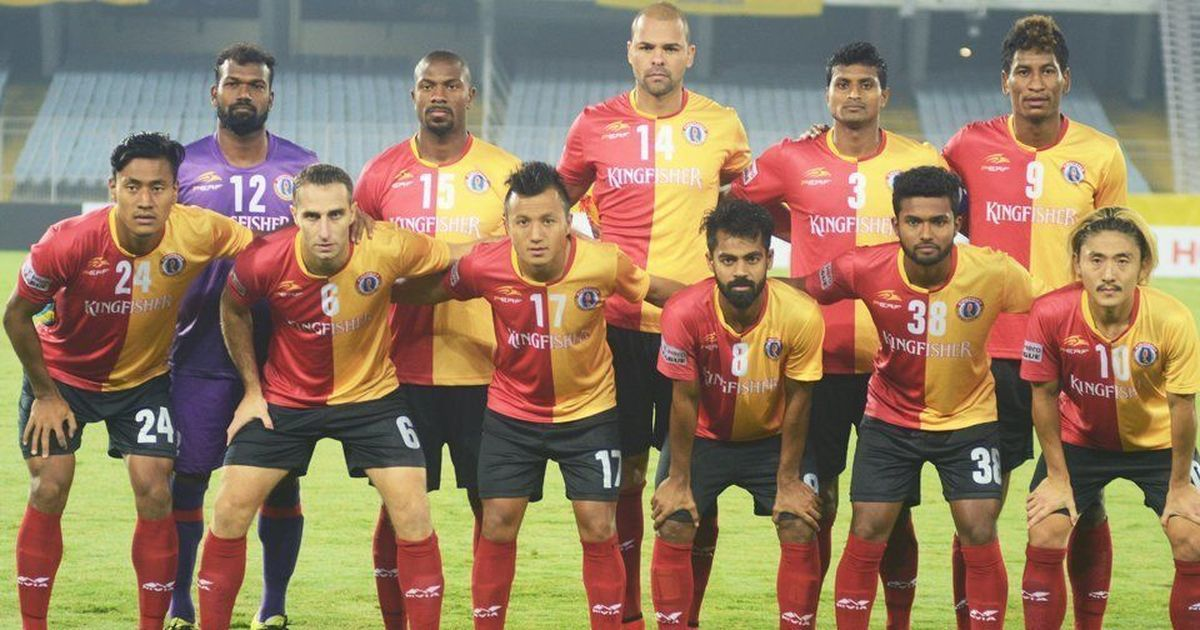 Dudu Omagbemi does the 'trick for East Bengal