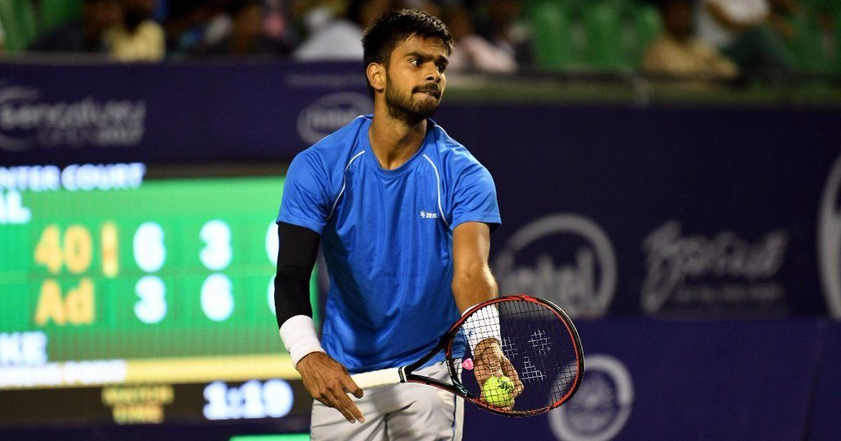 Indian tennis: Sumit Nagal and Saketh Myneni suffer first-round defeats in Ningbo Challenger