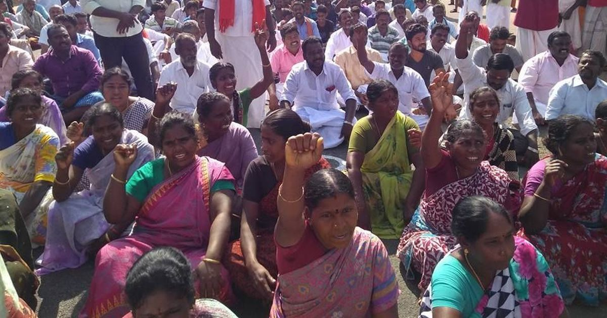 Dalit colony in Tamil Nadu attacked by a upper caste mob after its residents ring in the new year