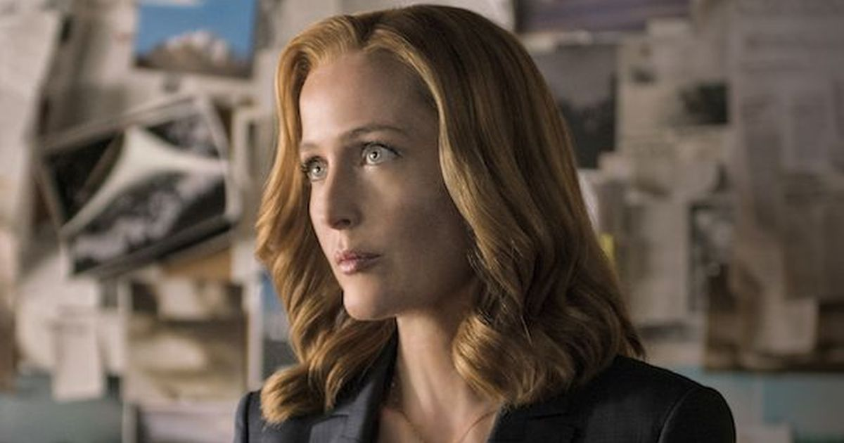Gillian Anderson confirms she's quitting 'The X-Files'