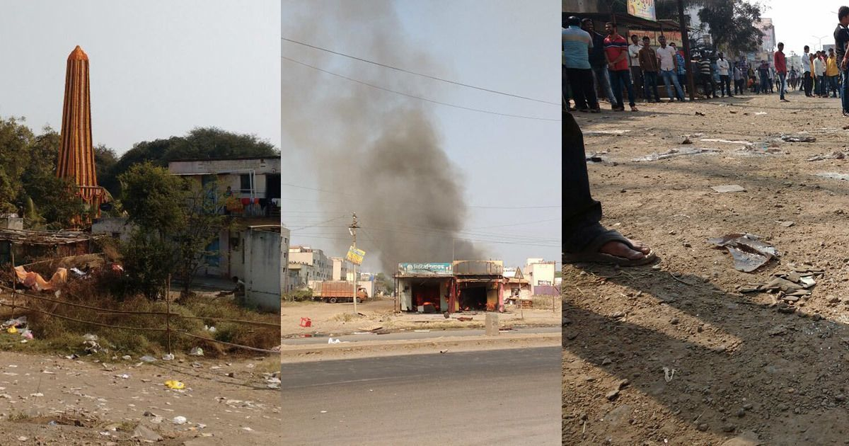Ground report: Bhima Koregaon attack may be fallout of vandalism of Dalit icon's tomb last week