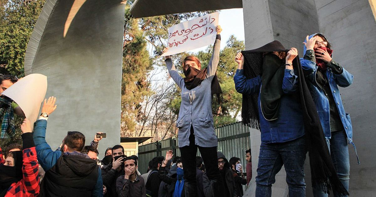 Iranians are protesting against their government – and it could mean trouble for West Asia at large
