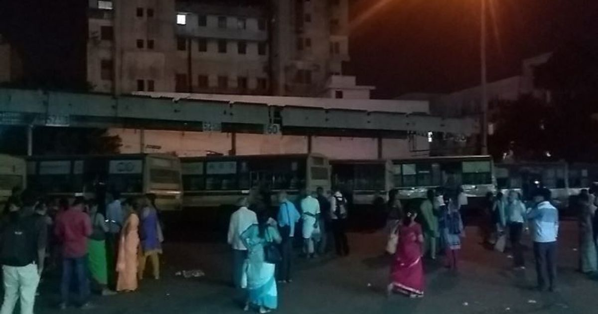 Bus strike hits 50 lakh commuters