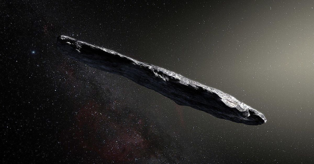 How I discovered the origins of the cigar-shaped alien 'asteroid' 'Oumuamua