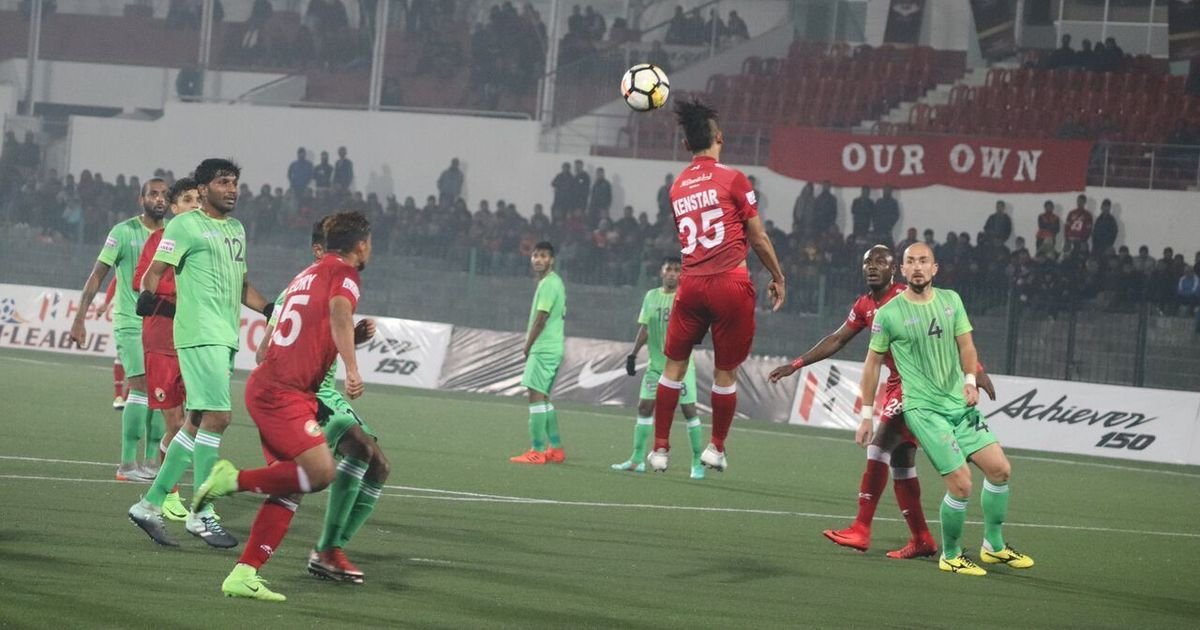 I-League: Shillong Lajong and Chennai City play out goalless draw