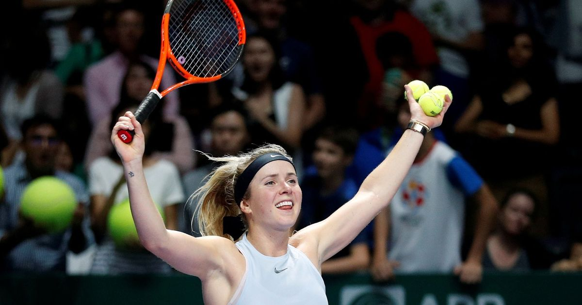 Svitolina made it to the finals of the tournament in Brisbane