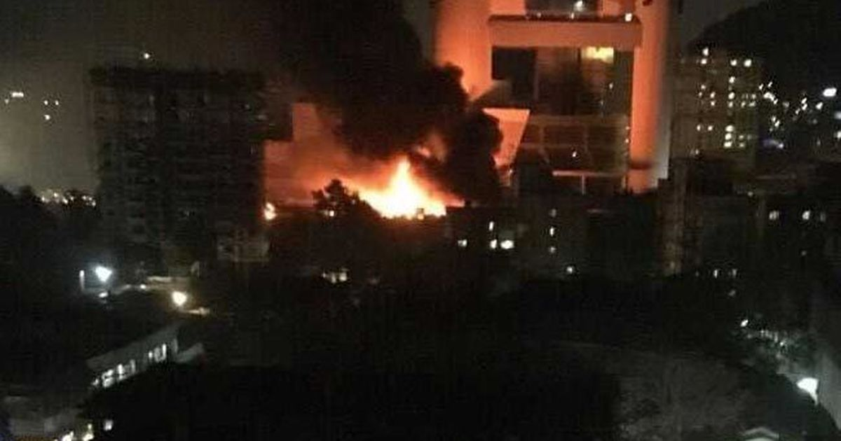 Fire breaks out at Kanjurmarg film studio