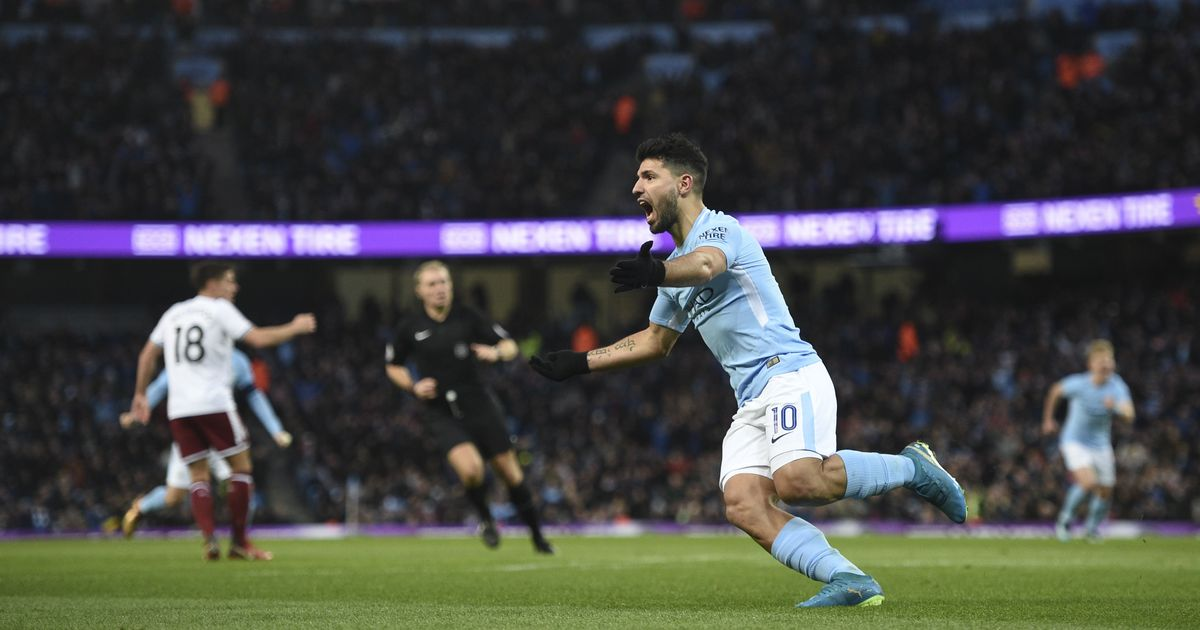 FA Cup Sergio Aguero powers Manchester City past Burnley Chelsea held by Norwich