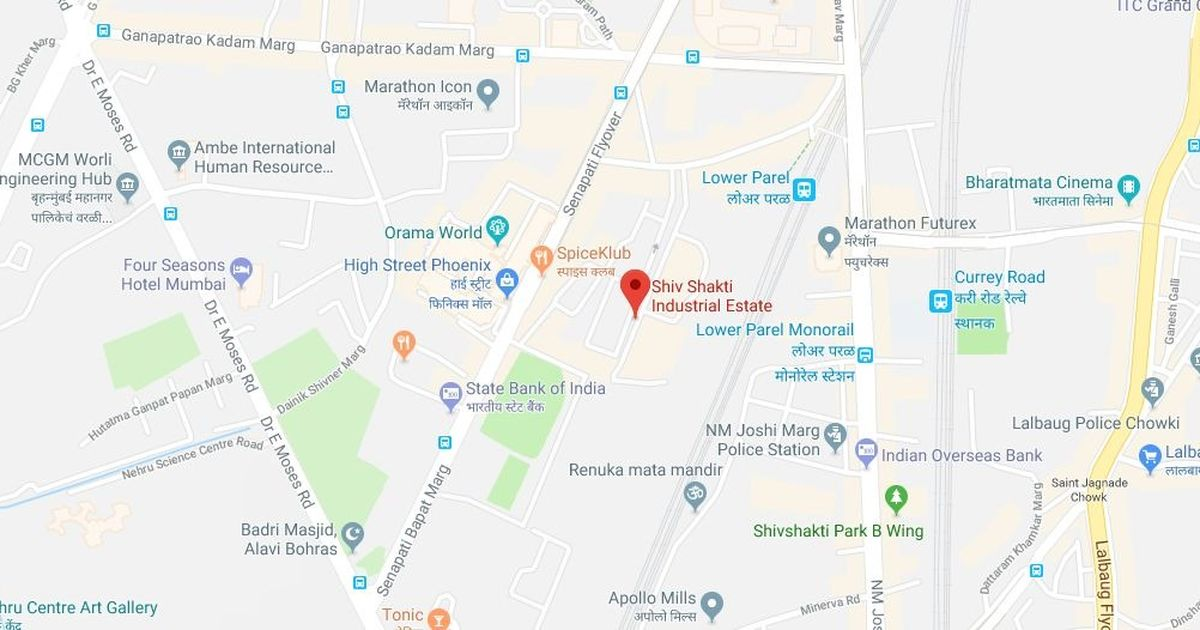 Mumbai: Fire breaks out in a three-story building in Lower Parel, no injuries reported