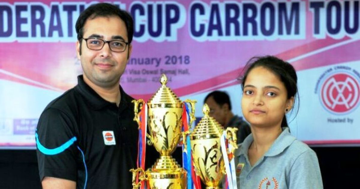 Carrom: Mohd. Ghufran, Kajal Kumari bag Federation Cup titles