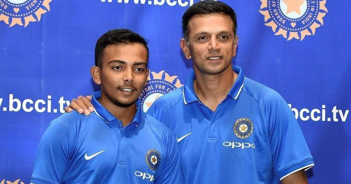 Was desperate to return to Indian team, looking forward to learn from Rahul Dravid: Prithvi Shaw