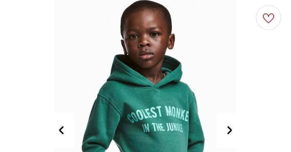 Clothing Giant H Amp M Under Fire For Showing Black Child