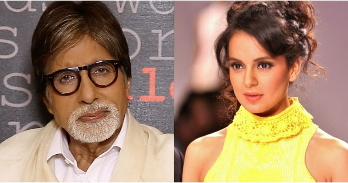 Amitabh Bachchan to team up with Kangana Ranaut for R Balki's next