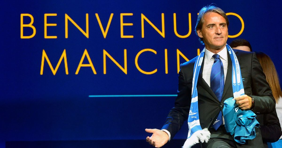 3369f2aa886 Former Manchester City manager Roberto Mancini all set to take over as Italy s  coach  Reports