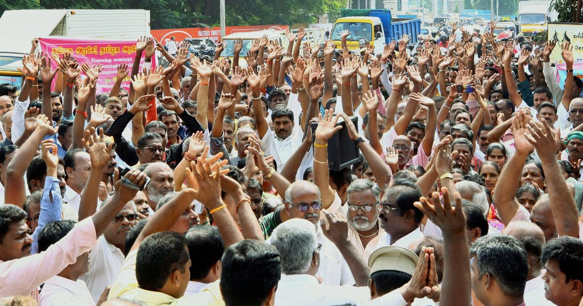 TN transport strike to continue. MLA pay hike adds to workers' anger