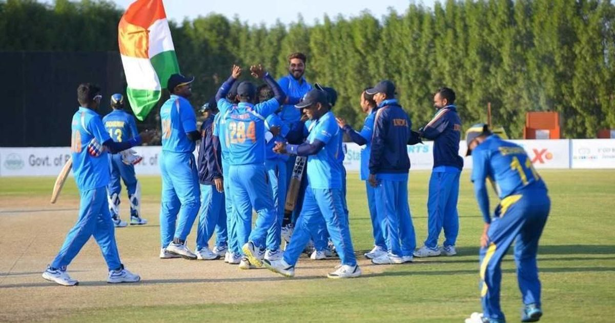 Blind Cricket World Cup: Deepak Malik fires India to big win in opener against Sri Lanka