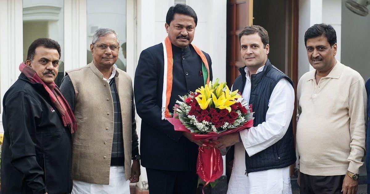 महाराष्ट्र : भाजपा के पूर्व सांसद नाना पटोले कांग्रेस में शामिल