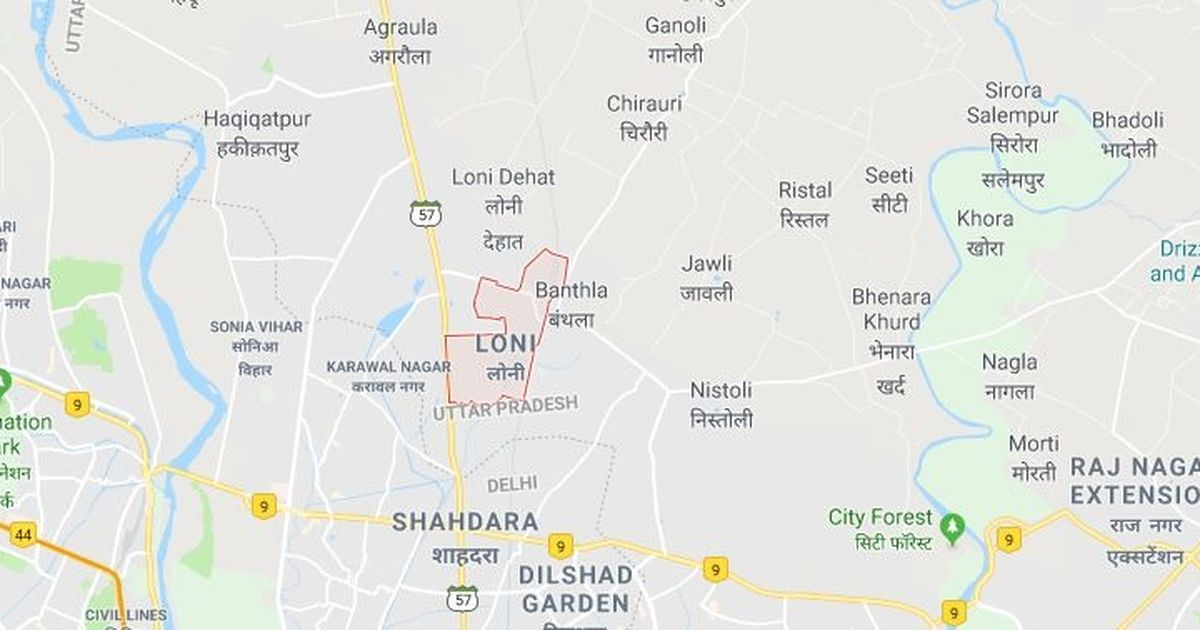 Ghaziabad Student Dies In School Parents Claim He Was Harassed - Ghaziabad map