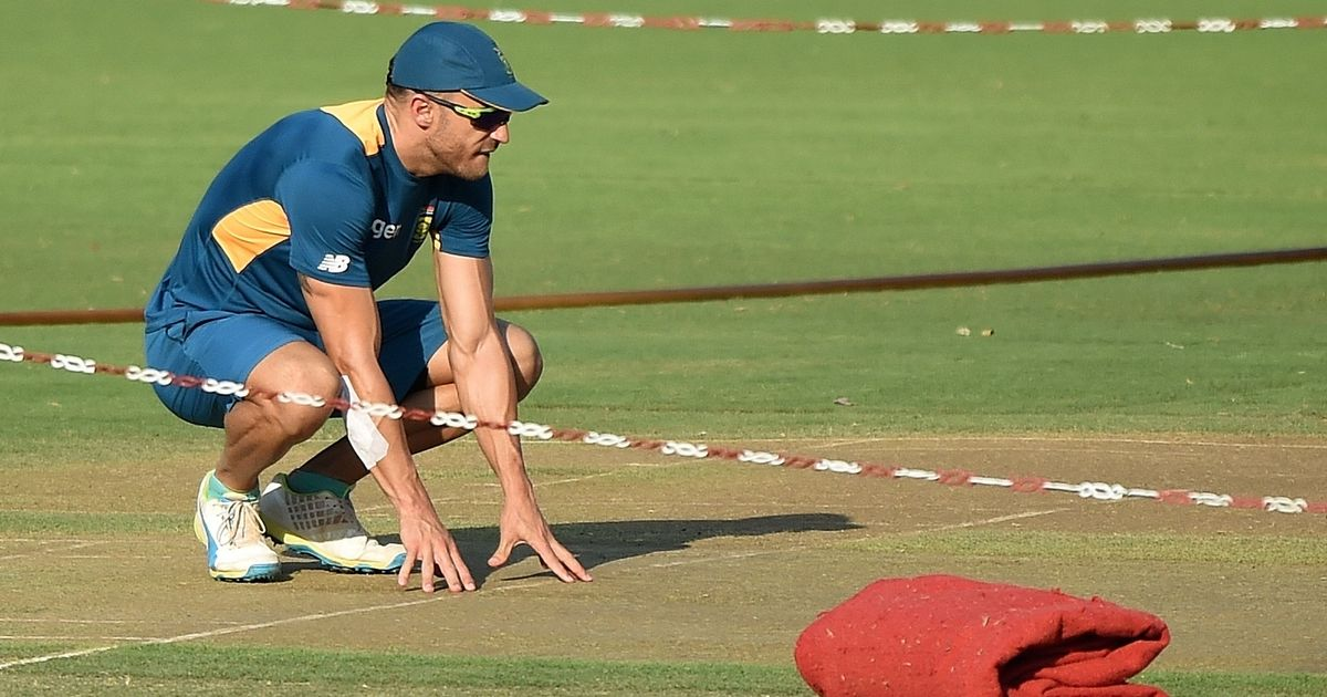 Du Plessis fined for slow over-rate offence