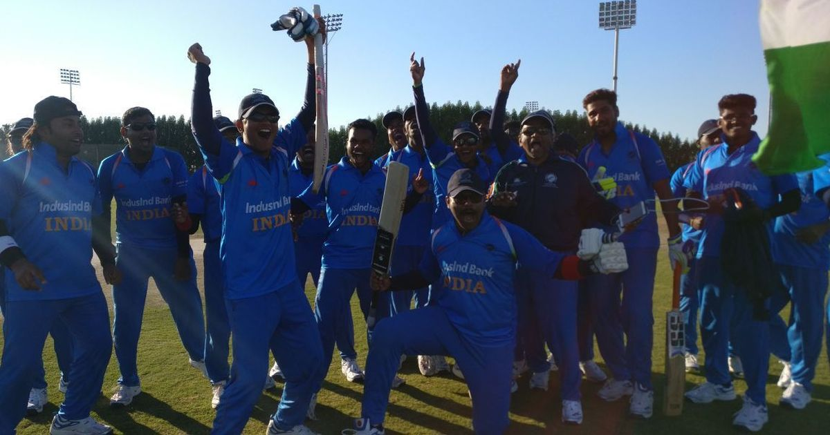Video: Blind cricket is a sport India is dominating and here's all you need to know about it