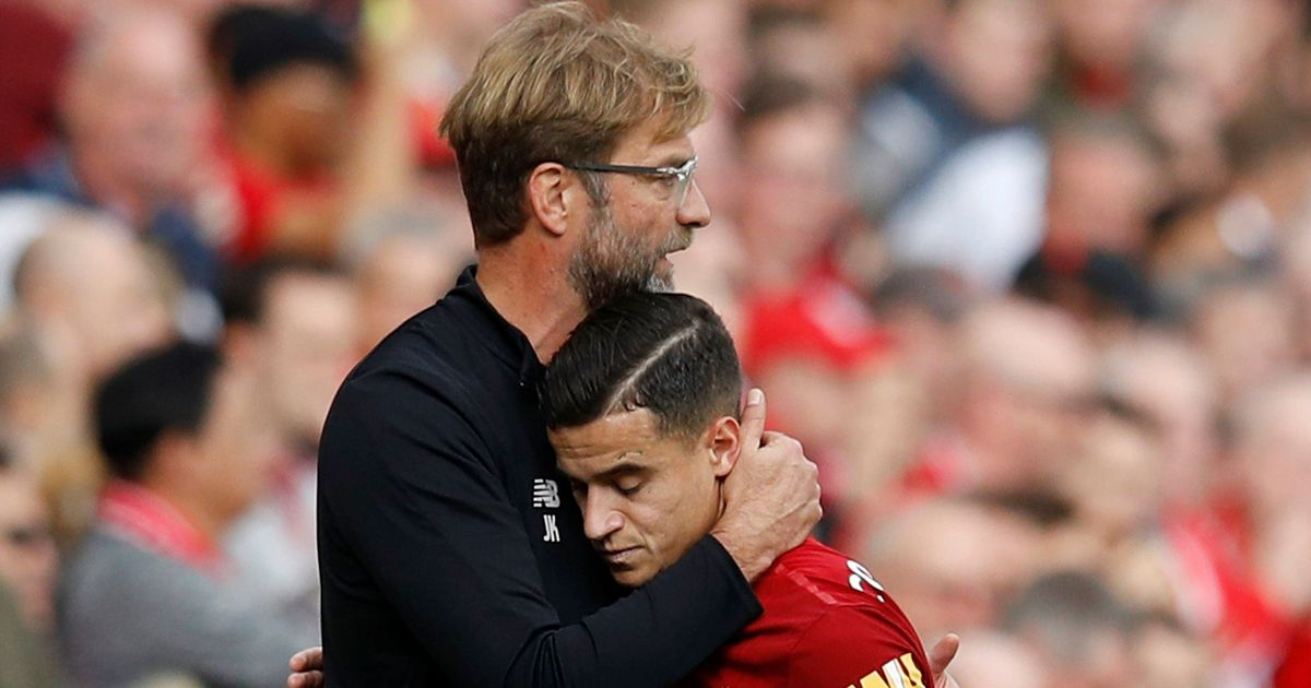 Liverpool couldn't stop Philippe Coutinho exit says manager Jurgen Klopp