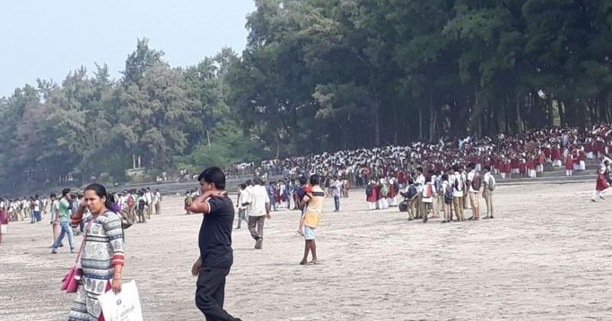 महाराष्ट्र : करीब 40 बच्चों को ले जा रही नाव समुद्र में डूबी, चार की मौत की आशंका